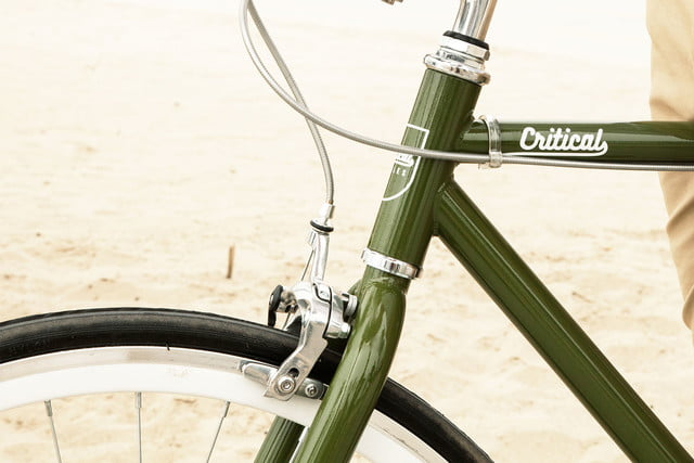 critical cycles harper coaster single speed green front detailb