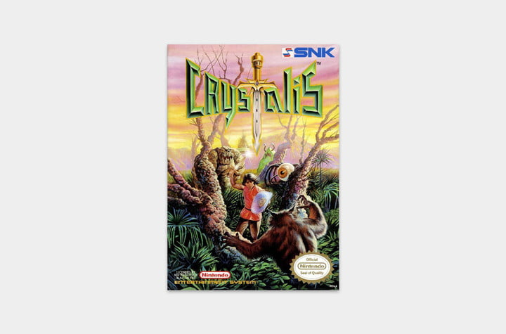 best nes games ever crystalis cover