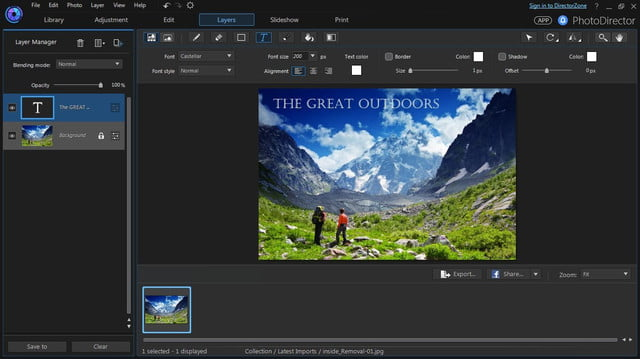 cyberlink director suite 4s new features include action cam video editing layers ui