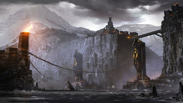heres everything need know story leading dragon age inquisition daii concept art 20