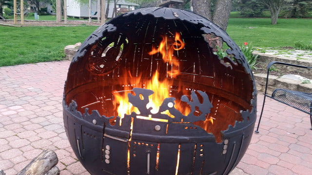 death star fire pit th6kfgi