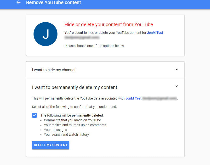 This is how to delete your youtube account in a few quick steps how to delete your youtube account deleteyoutube04 ccuart Choice Image