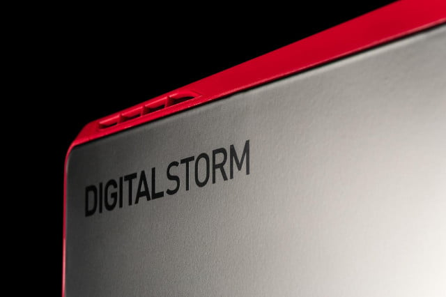 Digital Storm Eclipse review side logo