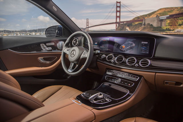 2017 mercedes benz e300 first drive e class interior 3