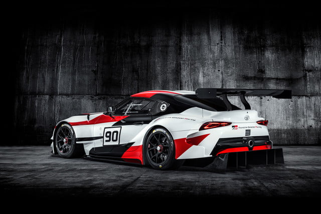 toyota displaying eight supra based builds at sema 2019 grsupra racingconcept 02