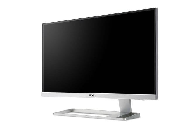 acer details 4k monitor with virtually no bezels hdmi 2 0 s27hk angled press image