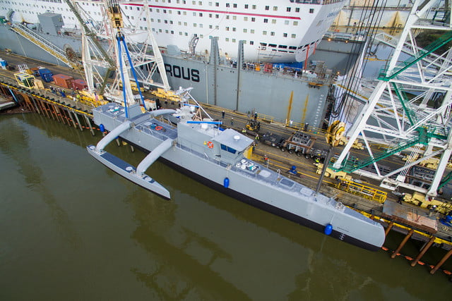 darpa officially christens the actuv in portland launch 4
