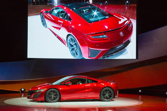 2016 acura nsx official specs pictures and performance reveal das2015 015