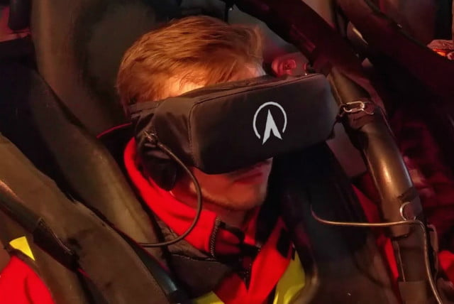 alton towers galactica vr roller coaster news face