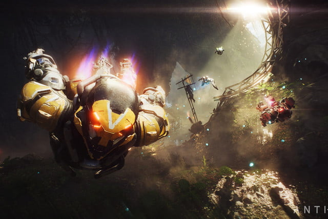 bioware ea anthem arrives february 2019 xbox playstation pc play e3 2018  2