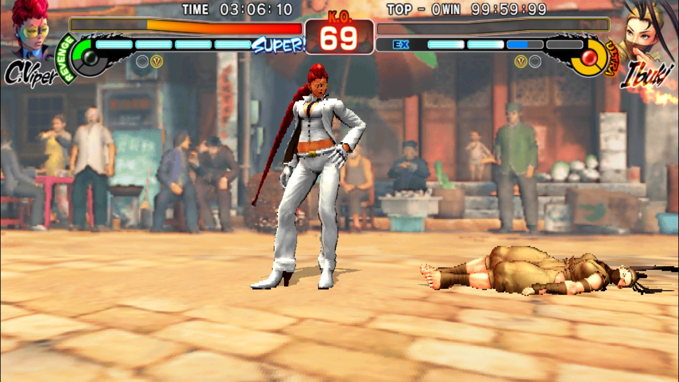 K O  on-the-go with Street Fighter IV Champion Edition