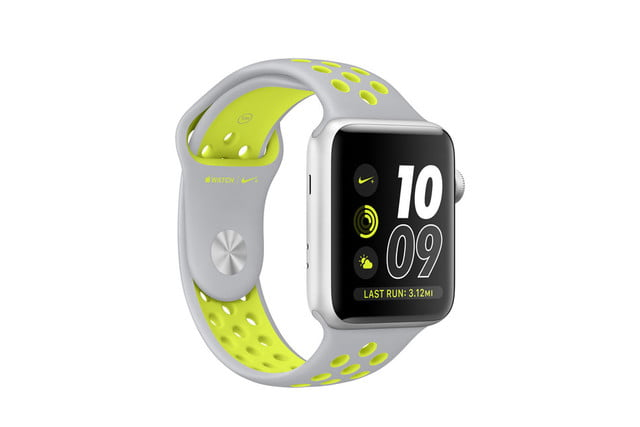 apple watch 2 news nike  silver volt sport large