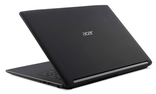 acer introduces new pcs at next event aspire 7 rear left facing