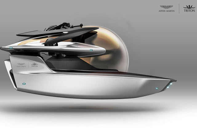 Aston Martin yachts and subs