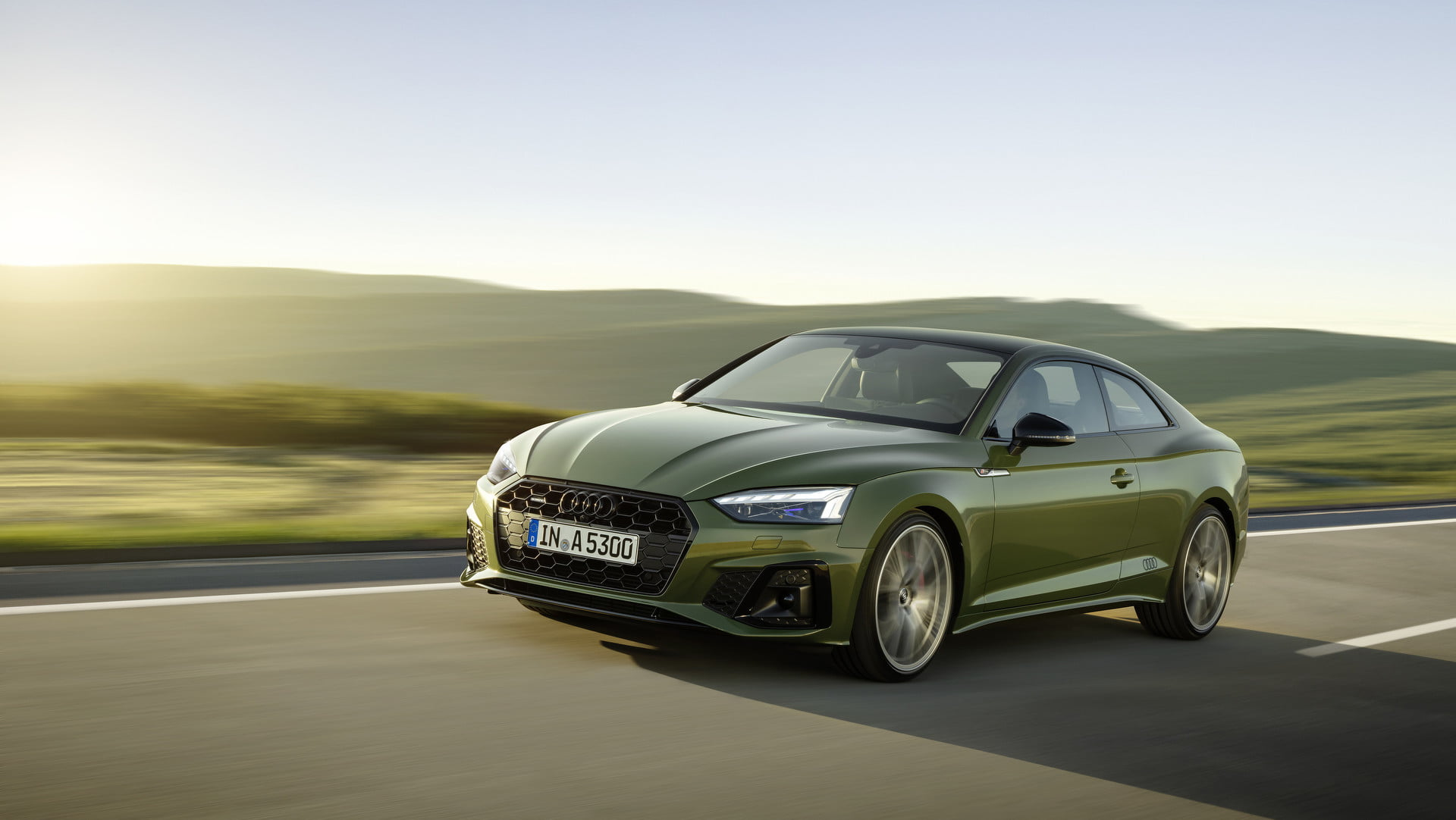 the 2020 audi a5 gets some style tweaks and a new infotainment system