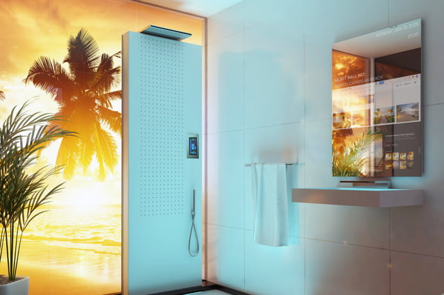 futurologist predicts how bathrooms will look in 2040 bathroom of the future shower