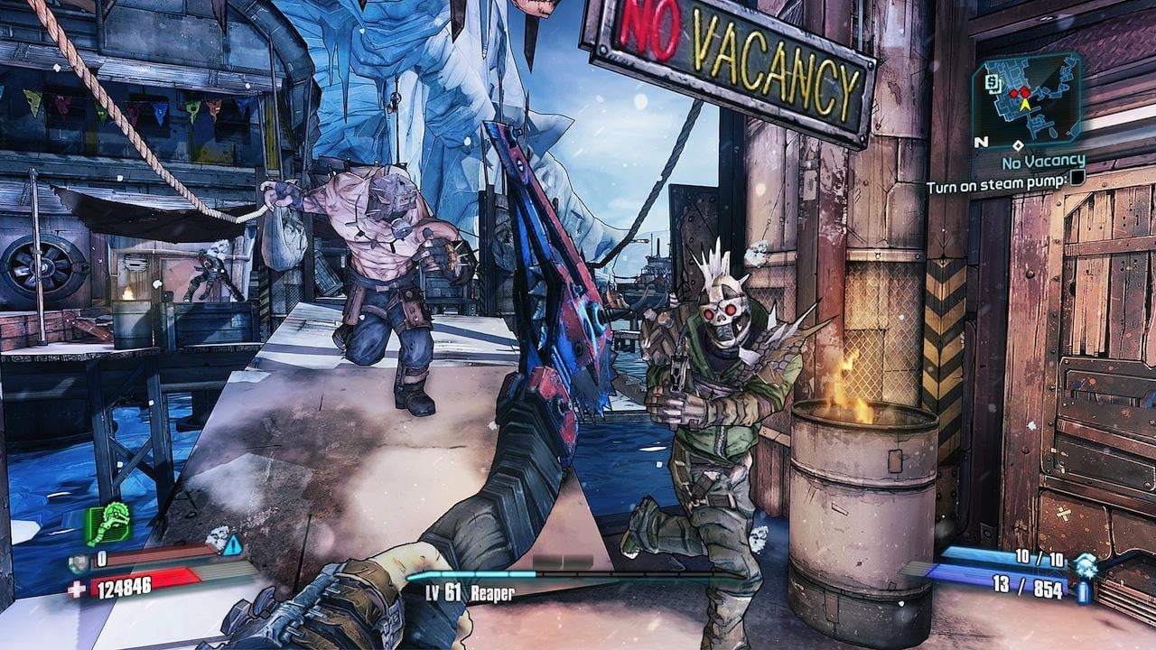 Borderlands 2's most psychotic villain is playable as the