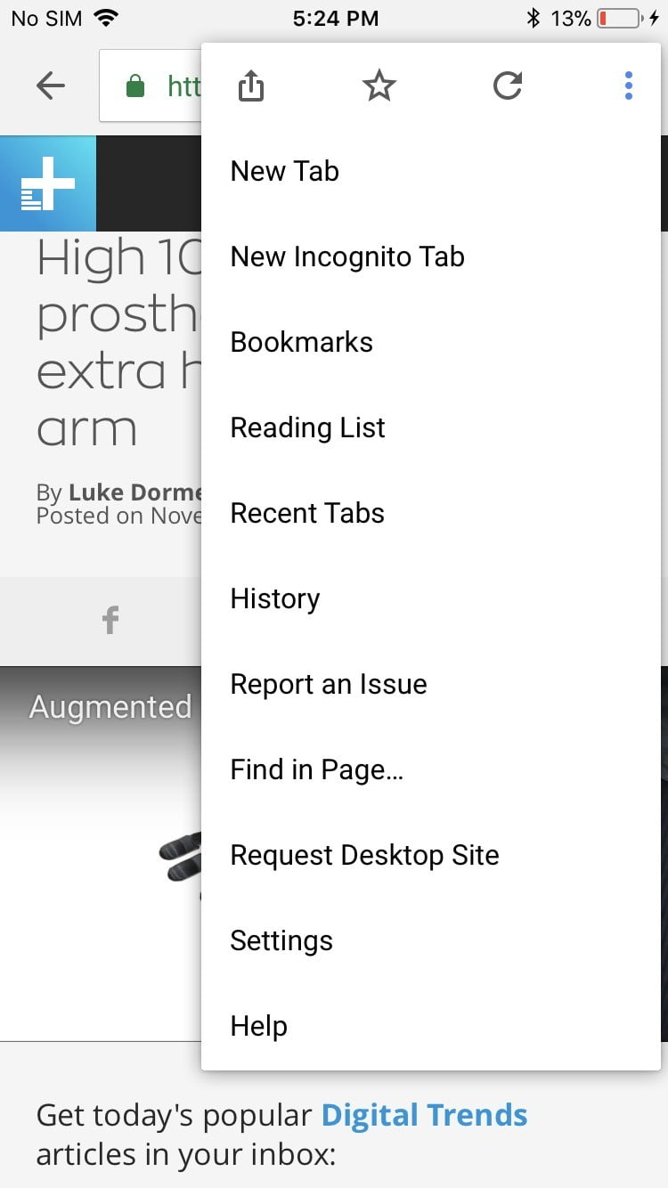 How To Create A Reading List In Chrome On Android And iOS