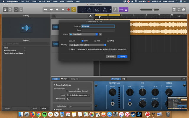 how to make ringtones for android creating in garageband 3