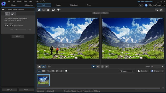 cyberlink director suite 4s new features include action cam video editing content removal comparison