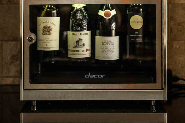 dacors voice activated oven debuts at ces 2015 dacor discovery winestation2