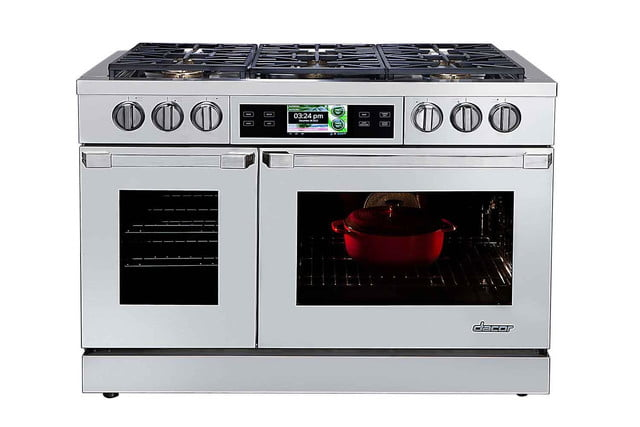 dacors voice activated oven debuts at ces 2015 discovery iq 48 inch dual fuel range silhouette
