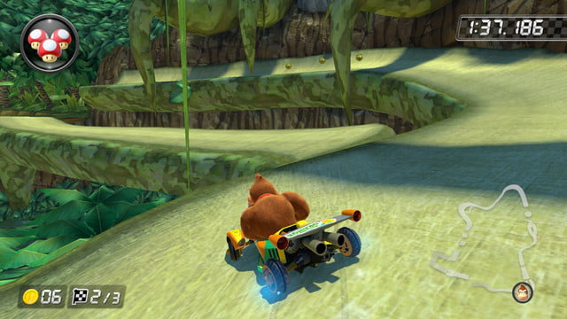 mario kart 8 shortcuts dk jungle 2