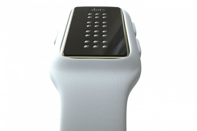 dot braille smartwatch visually impaired 2