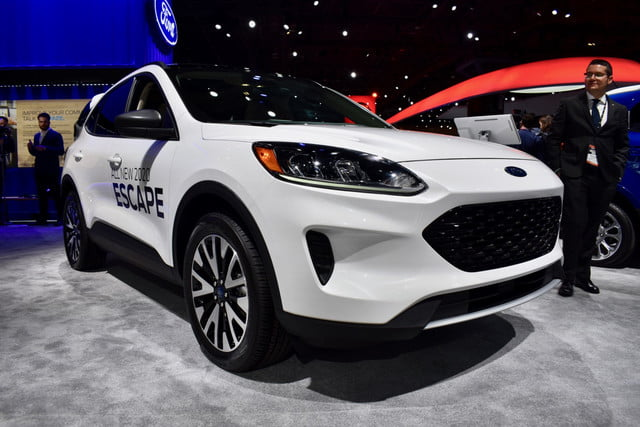 2020 Ford Kuga Plug-In Hybrid Is Coming Next Spring >> 2020 Ford Escape Debuts With Hybrid Plug In Hybrid Powertrain