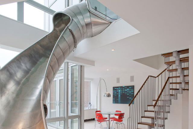 houses with amazing indoor slides east village penthouse 1