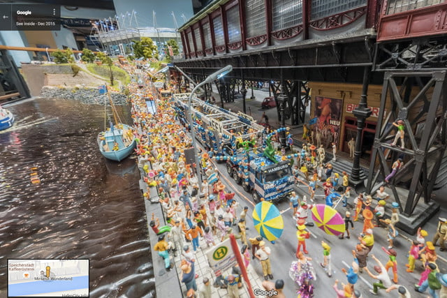 google street view miniatur wunderland video news mini tilt shift 4