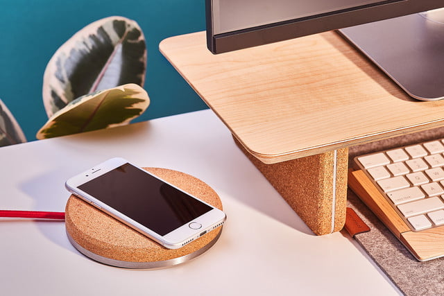 Grovemade Wireless Charging Pad Review press desk
