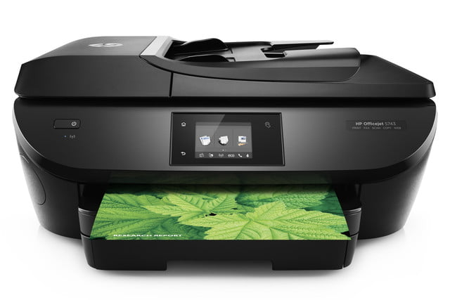 hp puts spotlight on instant ink refill program with new inkjet printers officejet 5743 product