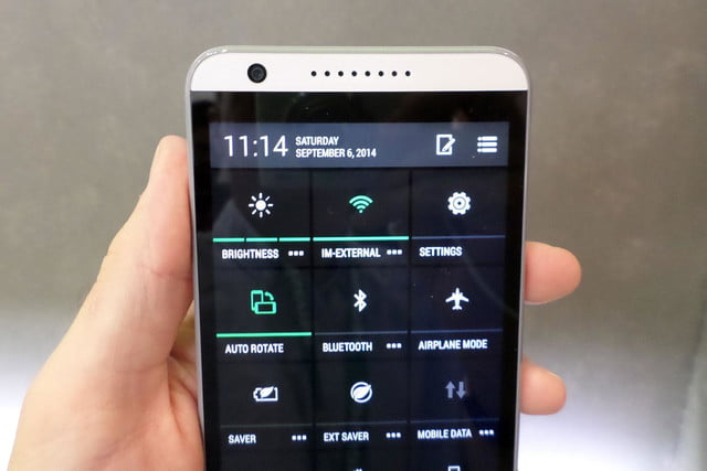 htc desire 820 hands on menu 2