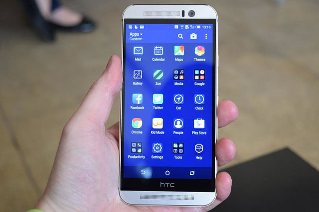 samsung galaxy s6 vs htc one m9 front 2