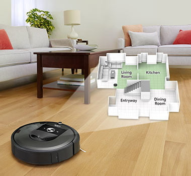 irobot slashes 150 off i7 best roomba robot vacuum that empties itself i755020 smartmapping