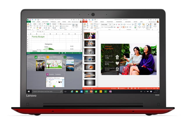 need a new computer lenovo rolls out massive update to laptop convertible and aio lines ideapad 500s 13  red 16