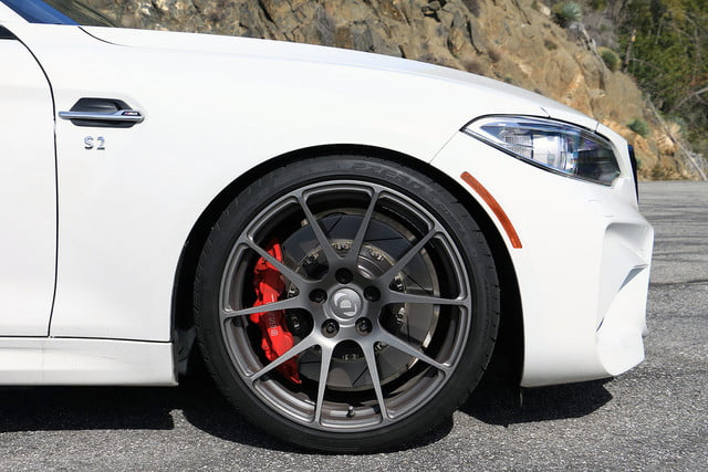bmw tuner dinan gives the m2 a performance focused makeover we go for spin img 5515