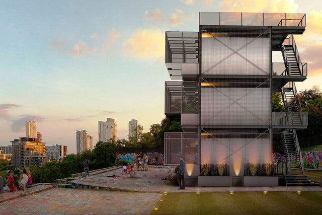 kasita is a tiny apartment that moves between cities austin downtown