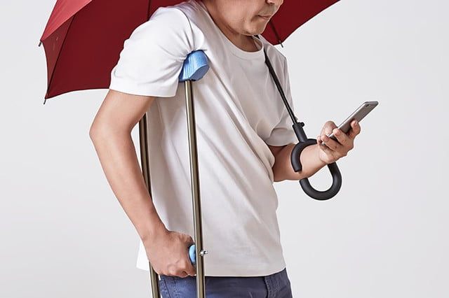 the phone brella allows you to text whatever is really not that important in rain kt designs 2