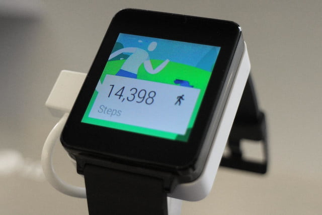 lg g watch news hands on steps