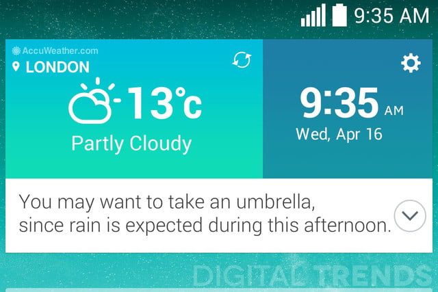 lg g3 homescreen screenshots leak exclusive favorite contacts weather macro