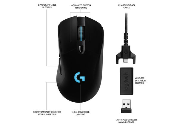 logitech e3 powerplay g903 g703 reveal