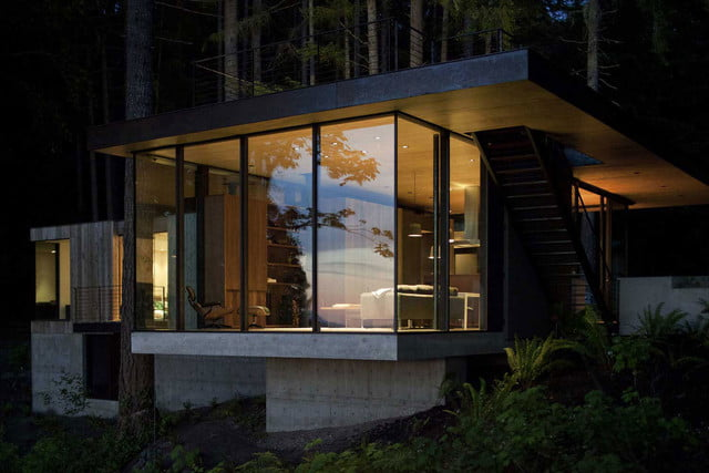 low maintenance cabin at case inlet puget sound retreat