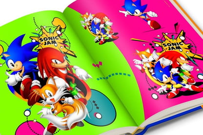 Sonic the Hedgehog Honored in 25th Anniversary Art Book