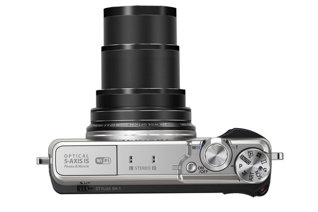 olympus stylus sh 1 is first compact camera with 5 axis stabilization slv tele top