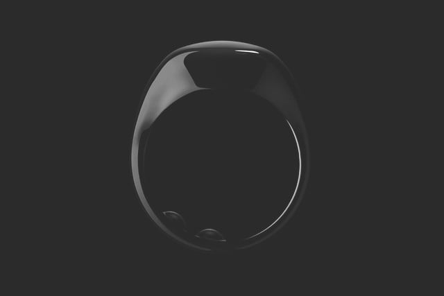 oura sleep tracking ring kickstarter news 1 arcticblack