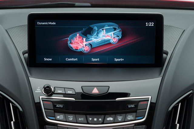 acura true touchpad infotainment system review rdx19 p018 ids