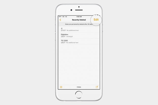 recover notes ios