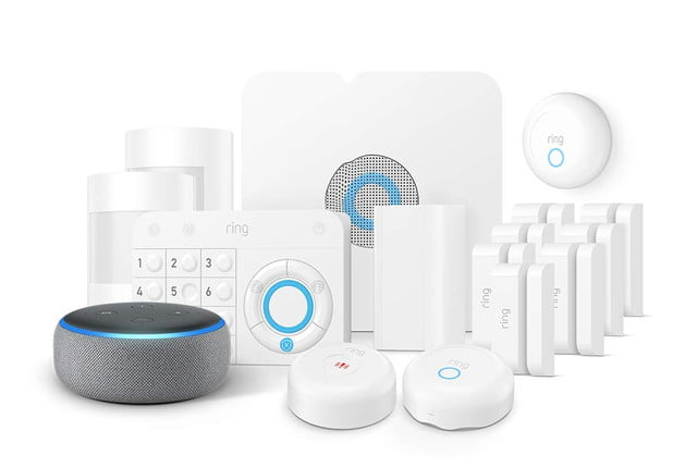 amazon slashes prices on ring alarm systems and throws in a free echo dot enhanced protection kit  1